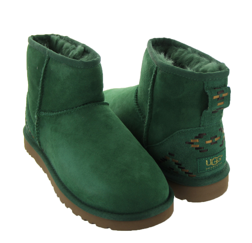 green ugg boots womens shoes