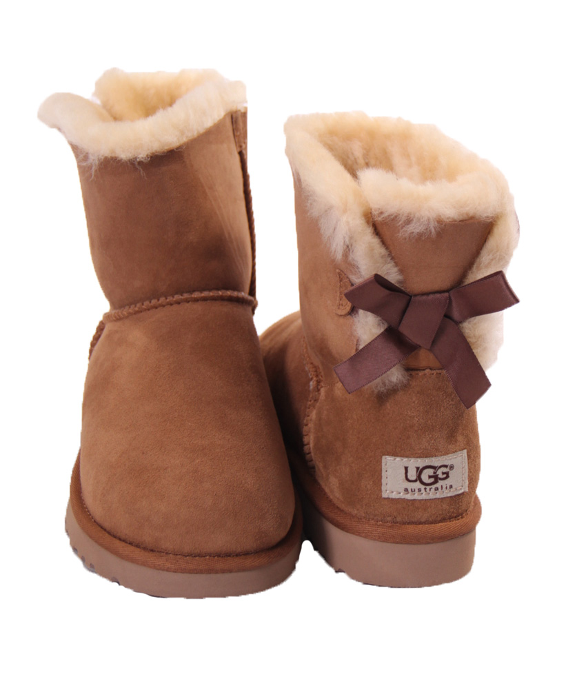 bailey bow brown uggs -