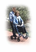 "Drive Medical Duet Rollator/Transport Chair, 8"" Casters"