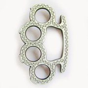 Original Celtic Pattern Four Rings Vertical Belt Buckle Gurtelschnalle Boucle de ceinture