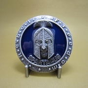 Silver Plated Spartacus Rebel Belt Buckle