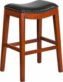 29 & 30 Inch Seat Height Wood Bar Chairs and Bar Stools