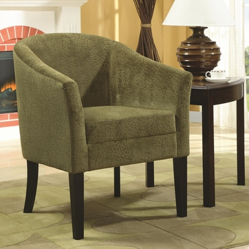 Embossed Microvelvet Upholstery Accent Chair by Coaster 902042