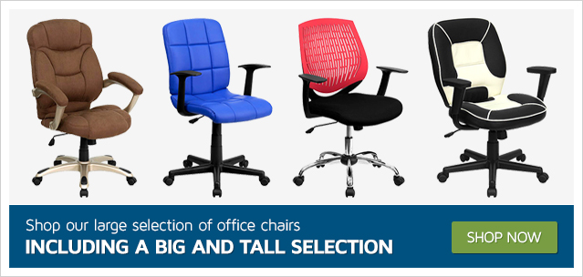 Shop our large selection of office chairs including a Big and Tall selection