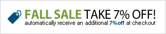 Fall Sale Take 7% Off
