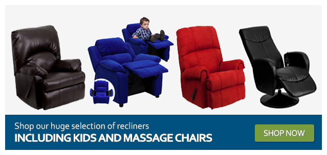 Shop our huge selection of recliners including kids and message chairs