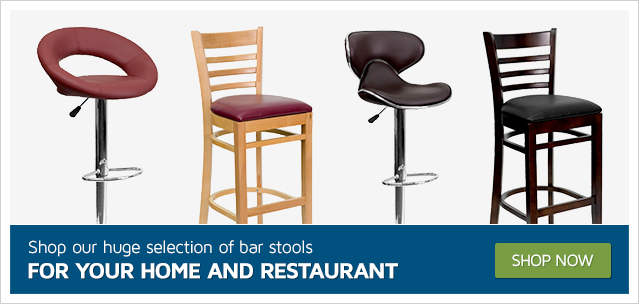 Shop our huge selection of bar stools for your Home and Restaurant