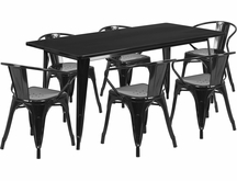 Indoor Metal Table & Chair Sets