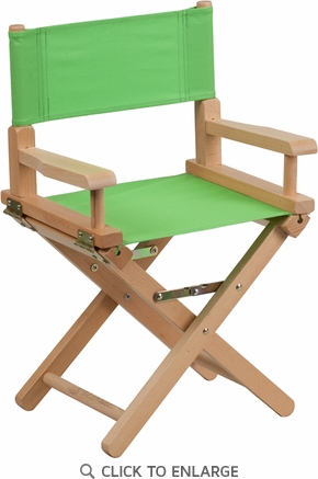 Kid Size Directors Chair in Green [TYD03-GN-GG]