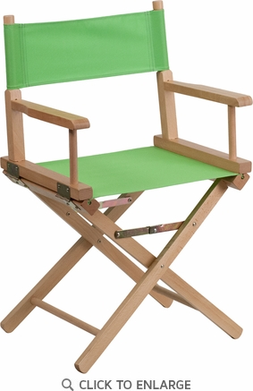 Standard Height Directors Chair in Green [TYD02-GN-GG]