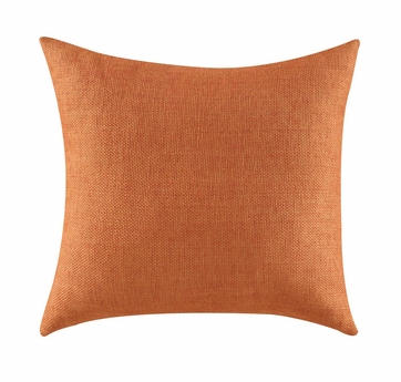 Textured Orange Accent Pillow by Coaster 905052 - Set of Two