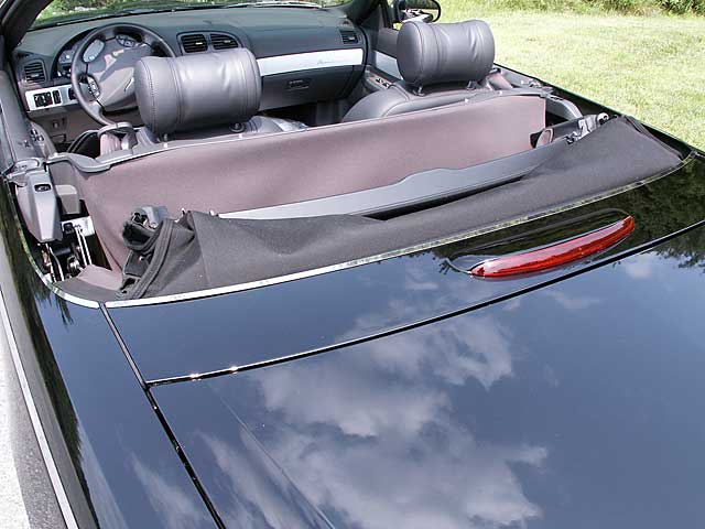 2002 -2005 Ford Thunderbird 3pc Hardtop Protection Trim