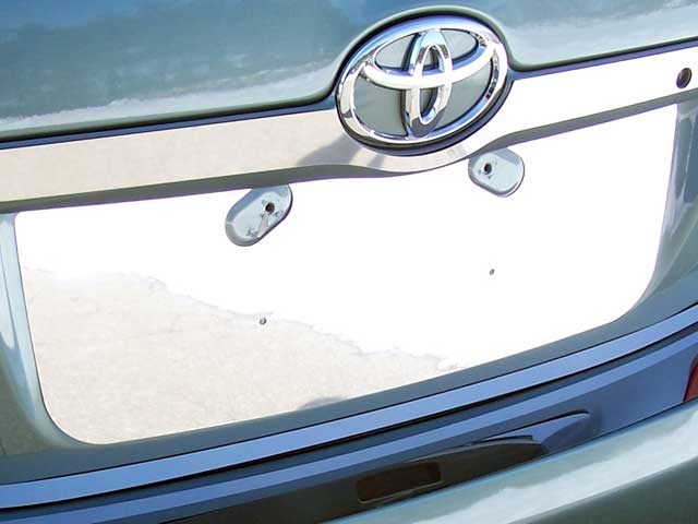2007-2011 Toyota Camry 1pc License Plate Trim