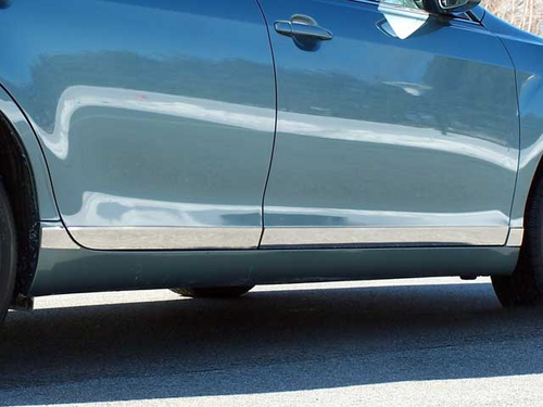 "2007-2011 Toyota Camry 8pc Rocker Panel Trim 1 1/4"" W - L"