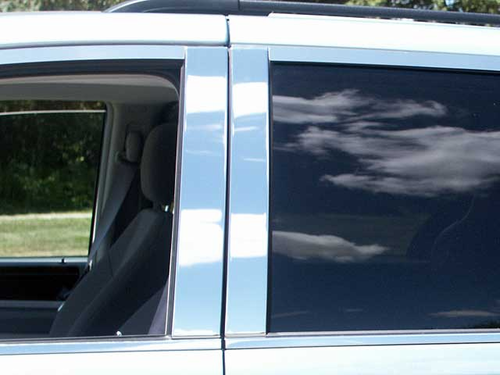2008-2012 Dodge Grand Caravan 4pc Pillar Post Trim