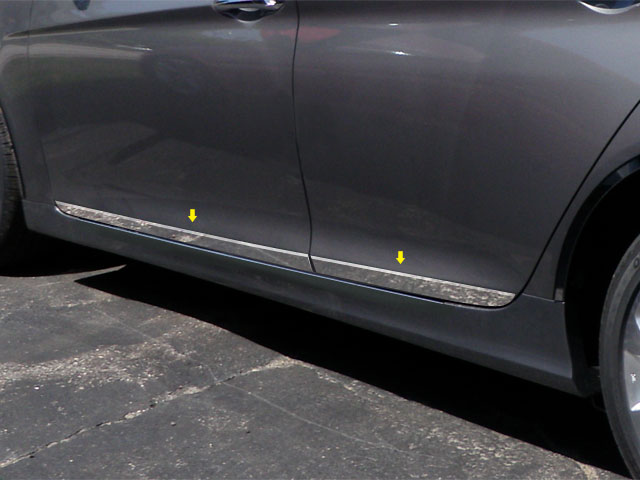 2011-2012 Hyundai Sonata 4pc Rocker Panel Molding Trim