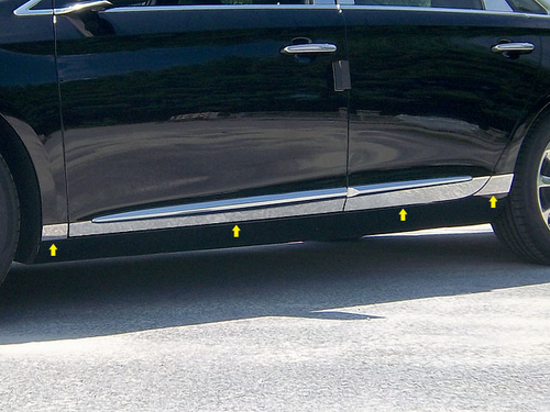 2013 Cadillac XTS 8pc Rocker Panel Trim - L