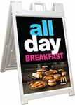 2'x3' Double Sided A-Frame Sign