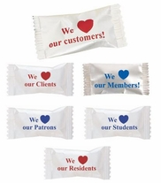 """""""We Love Our"""" Mint & Candy Series - Case of 1000"""