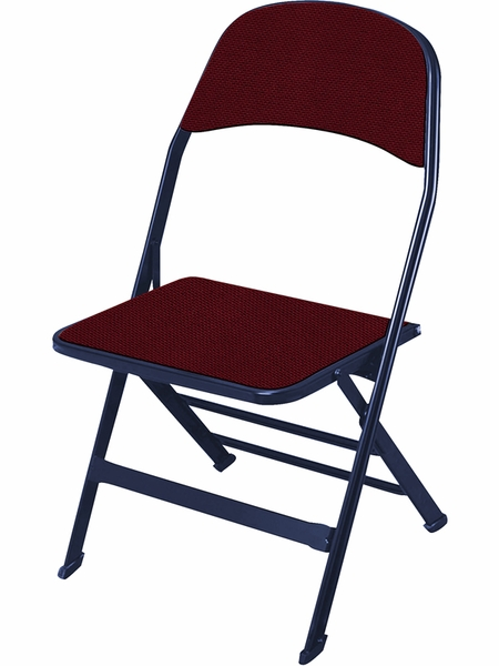 2000 Series Fabric Upholstered Seat and Back Folding Chair with 14 25 & 3