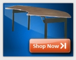 Crescent Folding Tables