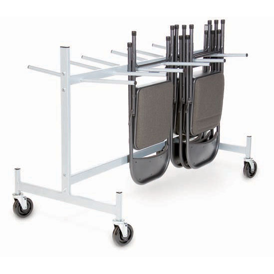 Hanging Folded Chair And Table Storage Truck 42 H
