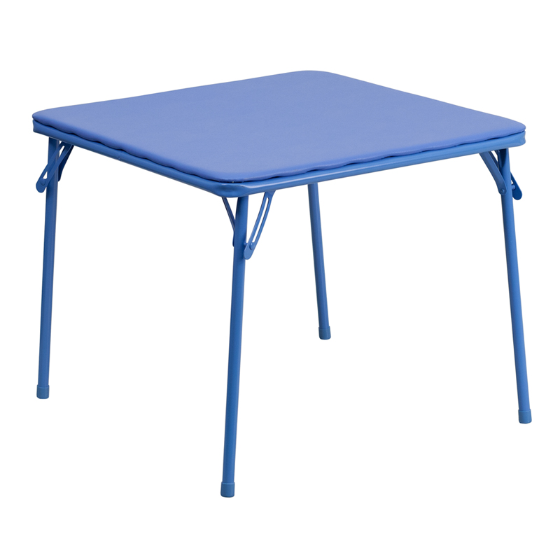Folding Kids Table : folding tables square folding tables kids blue folding table jb table ...