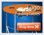 Logo Folding Tables
