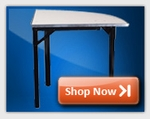 Quarter Round Folding Tables