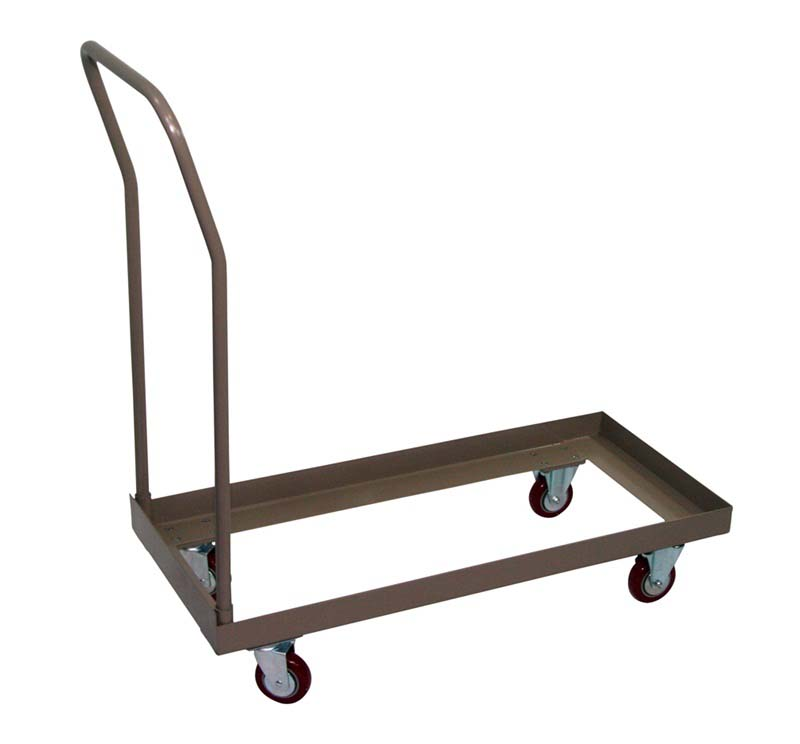 Standard Chair Cart With 4 39 39 Casters For Champ Fanback Series Folding