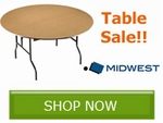 Update Your Folding Tables and Save with Midwest Folding Products!!