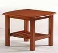 Corona End Table - Solid Hardwood