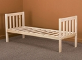 Mission Daybed Frame - Solid Hardwood