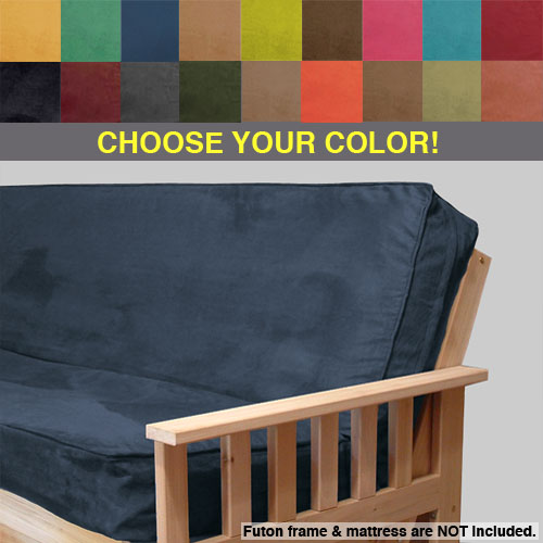 Full Size Futon Plush Micro Suede Full Size Futon Covers