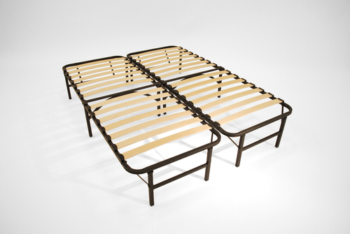Pragma Bed Frame Wooden Slat Simple Base Shop4futons Com