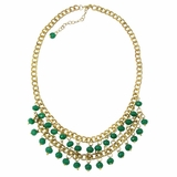 Anjali Opaque Necklace - Teal