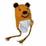 Childrens Honey Bear Hat