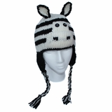 Childrens Zebra Hat