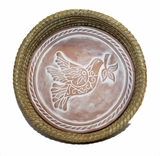 Dove of Peace Bread Warmer Basket