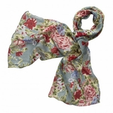 Flowers of Afternoon Scarf