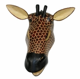 Giraffe Mask - Made in Kenya