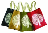 Jute Shopper - Tree of Life Bag
