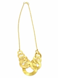 Linked Up Necklace - Gold