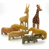 Miniature Wood Animals
