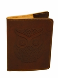 Owl Passport Cover