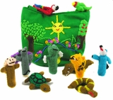 Rain Forest Finger Puppet Set