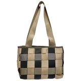 Seat Belt Purse: Checkered