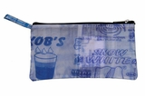 Trashy Zip Wallet - Water: Blue