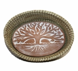 Tree of Life Bread Warmer Basket