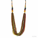 Vivid Beaded Necklace